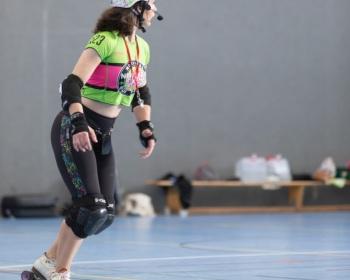 Bootcamp Miracle Wips 2020 zu besuch bei den Zombi Rollergirlz in Münster