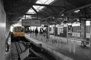 S-Bahn an Gleis 3