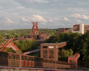 Blick auf Zollverein
