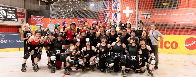 Gruppenfoto RuhrPott Roller Girls