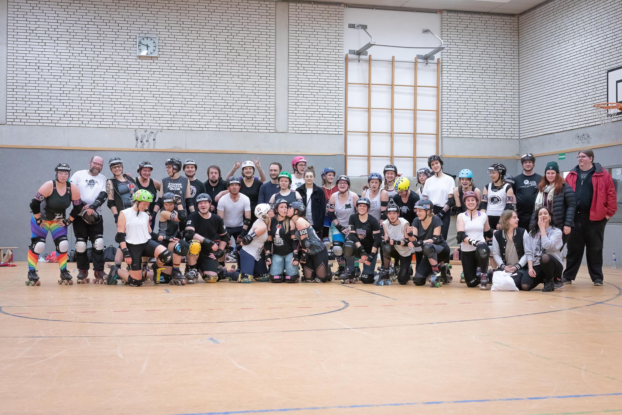 Gruppenbild Team NRW - Weihnachtstraining 2019