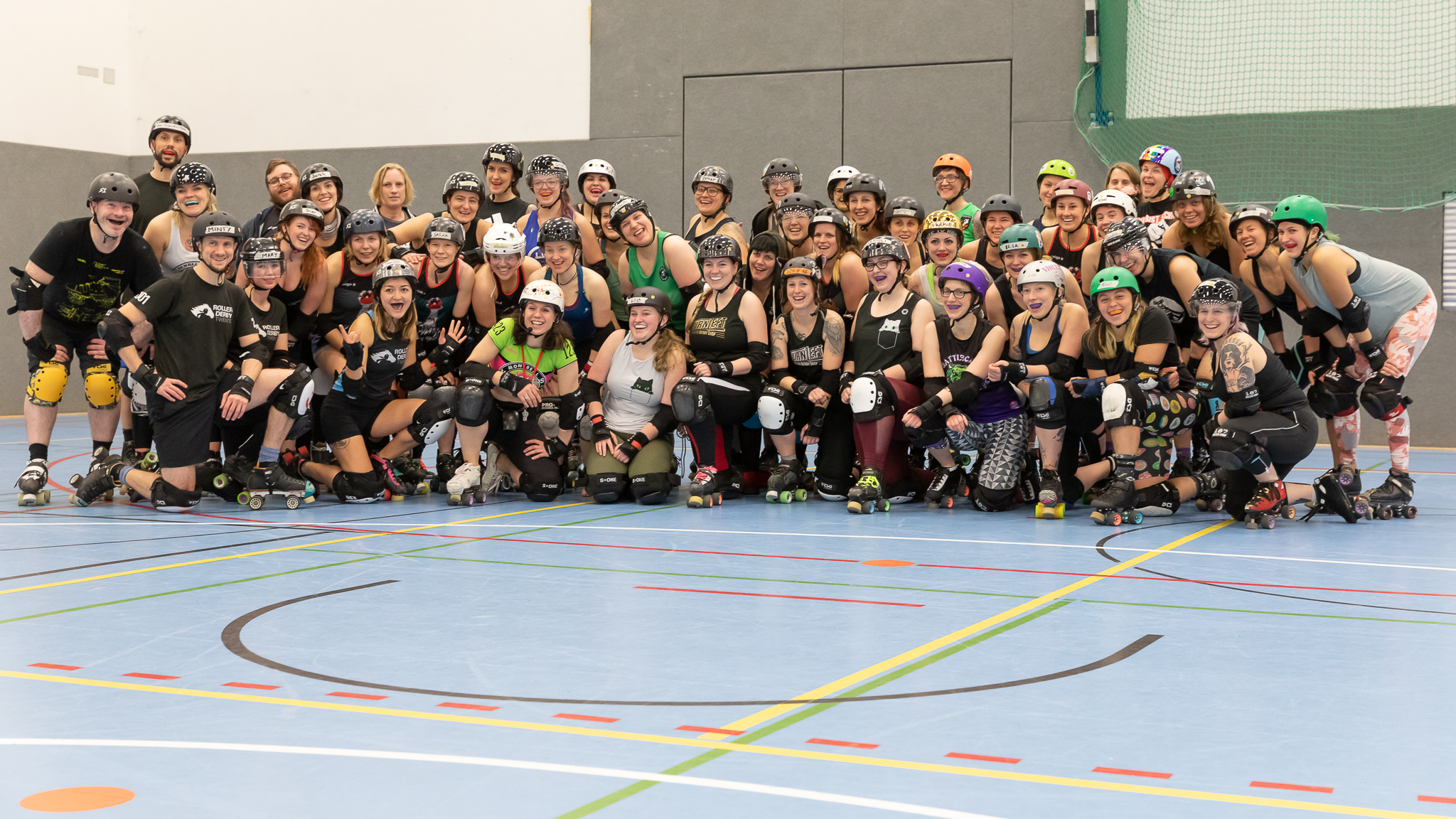 Gruppenfoto Bootcamp Miracle Whips 2020 in Münster
